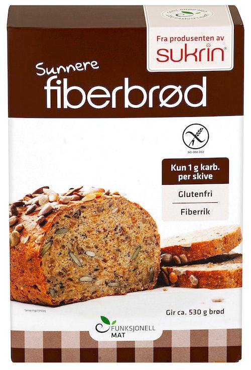 Sukrin Fiberbrød Glutenfri, 250 g