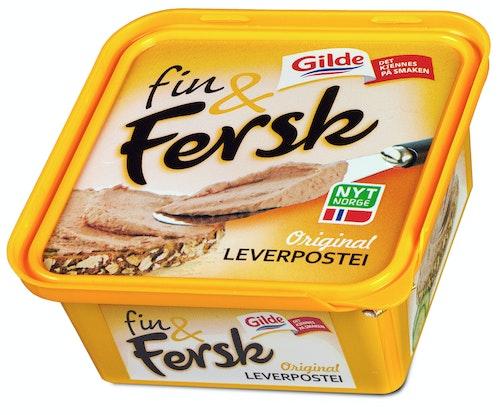 Gilde Leverpostei Fin&Fersk, 150 g
