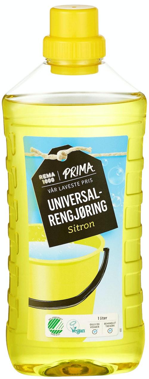 REMA 1000 Universalrengjøring Sitron 1 l