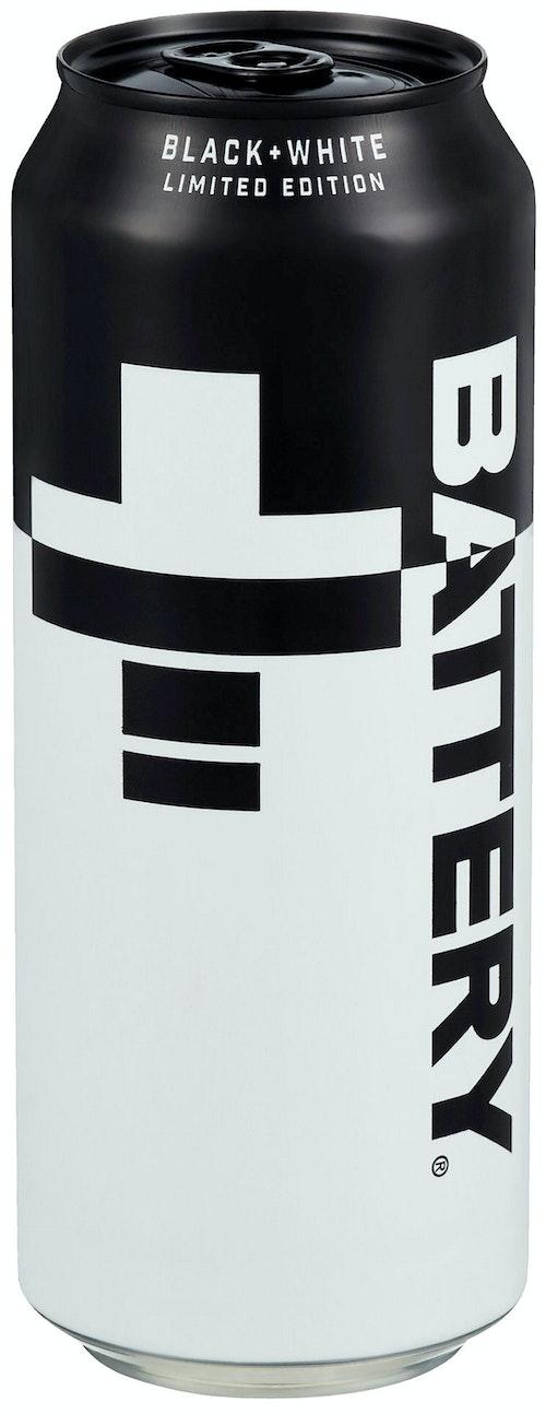Battery Battery Black & White 0,5 l