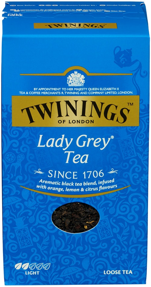 Twinings Lady Grey Løsvekt, 200 g