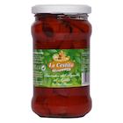 Rød paprika med hvitløk