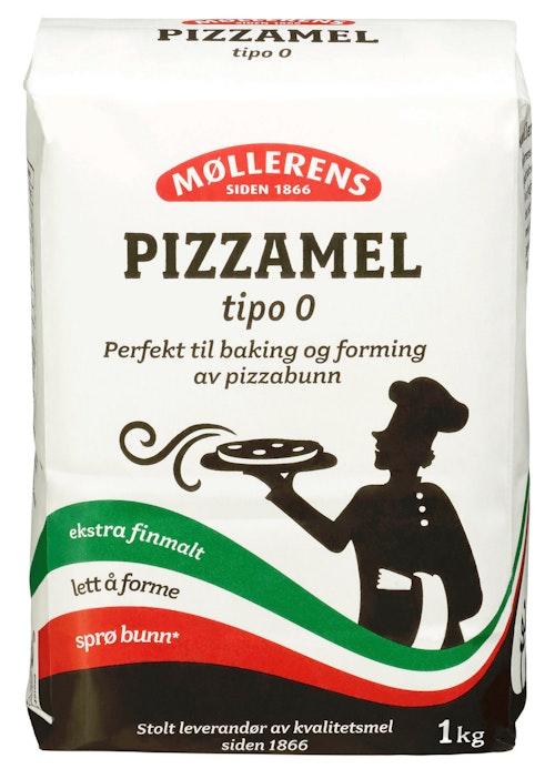Møllerens Pizzamel Tipo-0, 1 kg