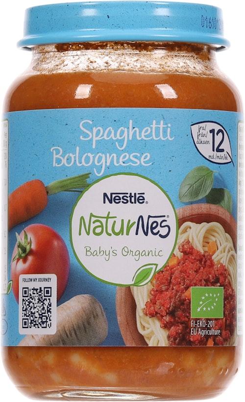 Nestlé Spagetti Bolognese Økologisk Fra 12 mnd, 190 g