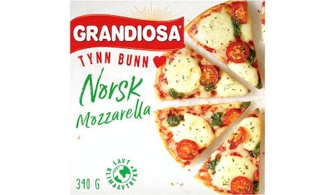 Tynn Bunn Mozzarella