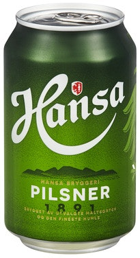 Hansa Borg Hansa Pilsner 0,33 l
