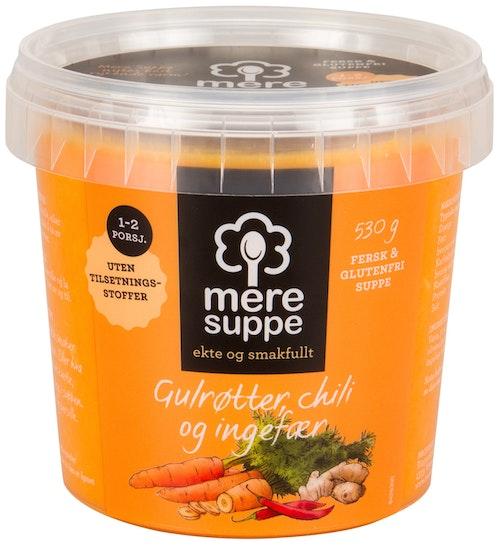 Mere Suppe Suppe med Gulrøtter, Chili & Ingefær 530 g