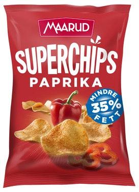 Maarud Superchips Paprika 140 g