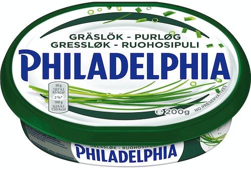 Philadelphia Philadelphia Light Gressløk 200 g