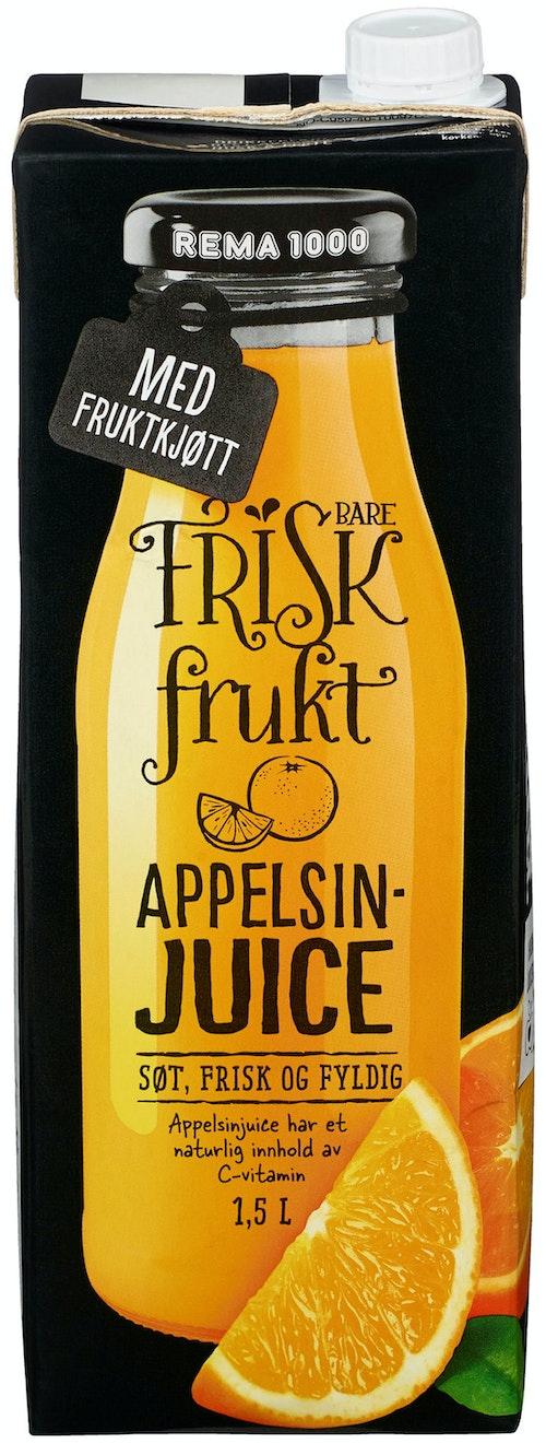 REMA 1000 Appelsinjuice Med Fruktkjøtt Premium 1,5 l
