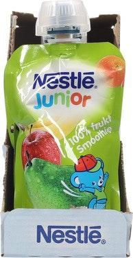 Nestlé Junior 4 Frukter Smoothie Fra 6 mnd, 110 g