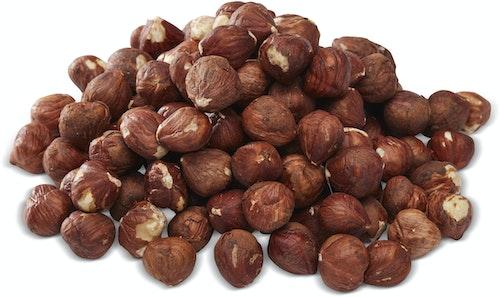 Nøtteliten Økologiske Hasselnøtter Rå, Usaltet, 130 g