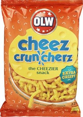 OLW Cheez Cruncherz 225 g