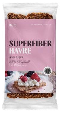 &Co Superfiber havre 100 g