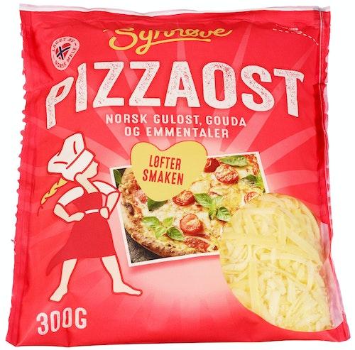 Synnøve Revet Ost Pizza 300 g