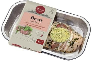 Stanges Gårdsprodukter Kyllingbryst Med Pancetta og Kryddersmør, 260 g