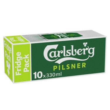 Carlsberg Carlsberg Pilsner Boks, 10x0,33l, 3,3 l