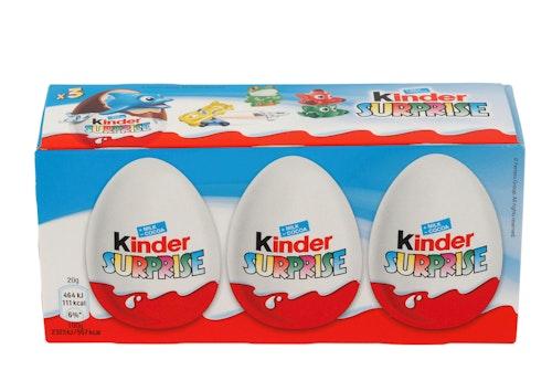 Kinder Surprise Kinderegg 3-pk, 60 g