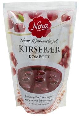 Nora Kirsebærkompott 455 g