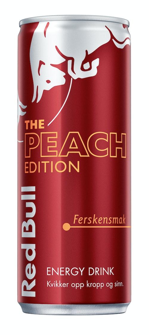 Red Bull Red Bull Energidrikk Peach Edition Ferskensmak, 250 ml