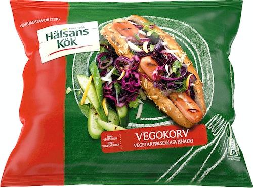 Hälsans Kök Vegetarpølse 8 stk, 300 g