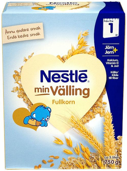 Nestlé Min Velling Fullkorn Fra 12 mnd, 750 g