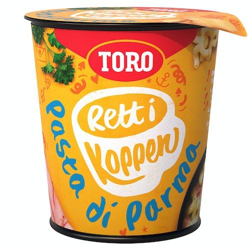 Toro Pasta Di Parma Rett i Koppen, 61 g