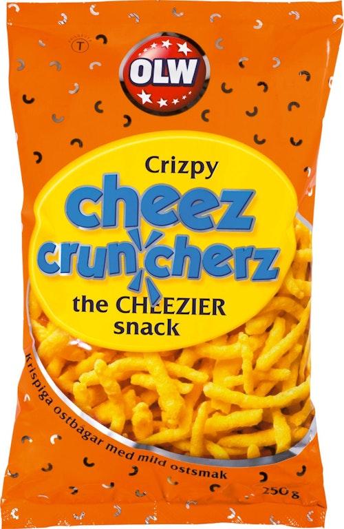 OLW Cheez Cruncherz 250 g