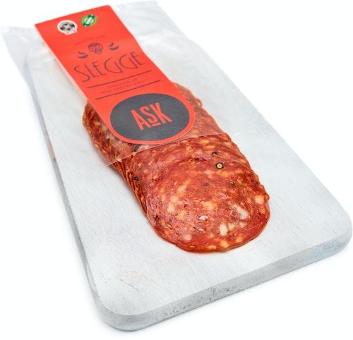 Ask Gård Slegge Chili Salami Økologisk, 100 g