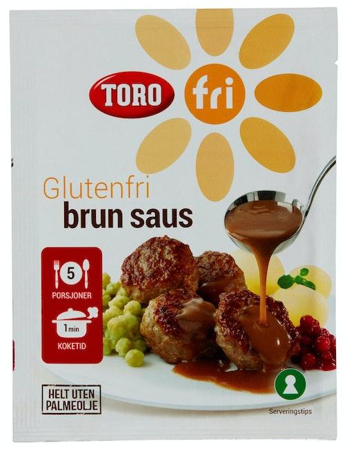Toro Brun Saus Glutenfri, 32 g
