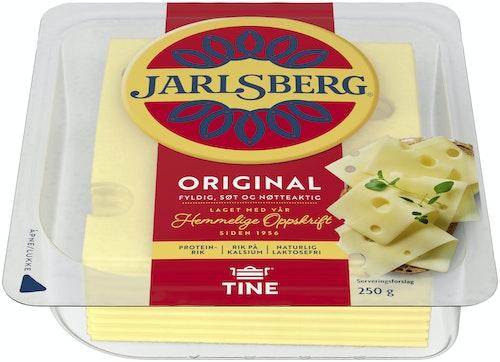 Tine Jarlsberg 27% Skiver, 250 g