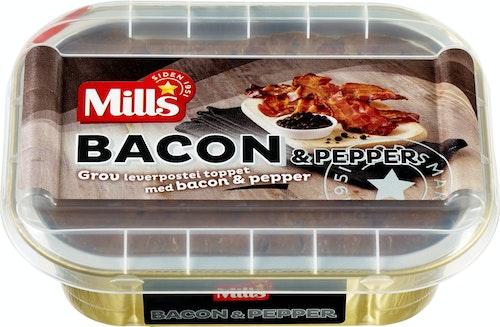 Mills Pepperbaconpostei 185 g