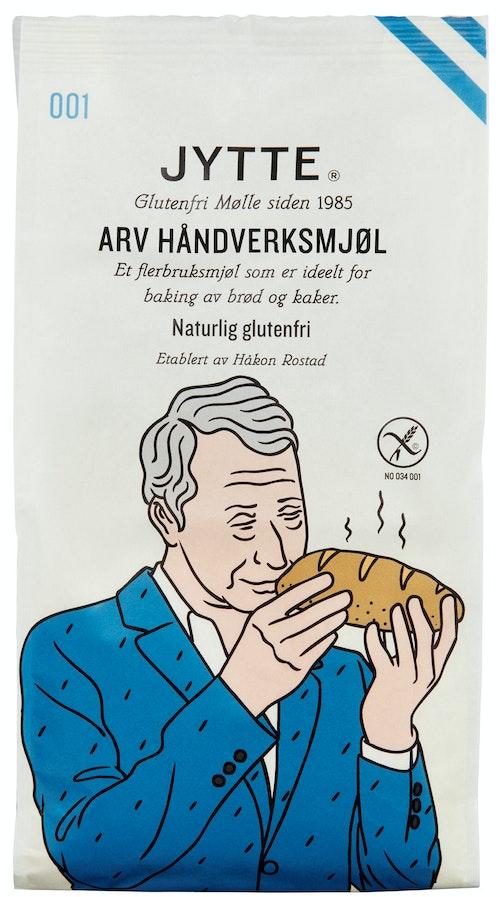 Holmen Crisp Holmen Jytte Arv Håndverksmjøl Glutenfri, 500 g
