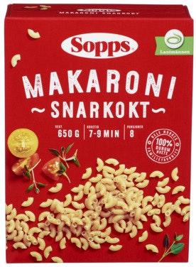 Sopps Makaroni Snarkokt 650 g
