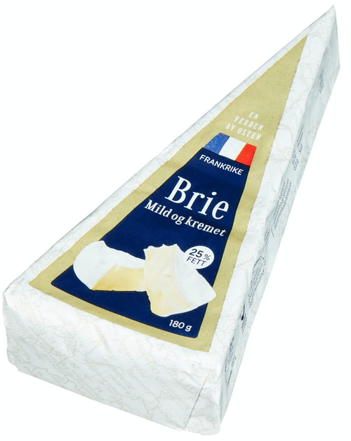 REMA 1000 Brie En Verden av Oster, 180 g