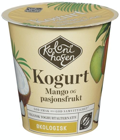 Kolonihagen Kogurt Med Mango og Pasjonsfrukt Økologisk, 125 g