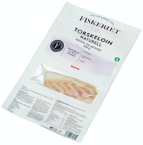 Godehav Torskeloin Uten Skinn 4x125g, 500 g