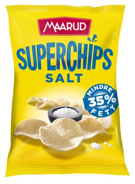 Maarud Superchips Salt 140 g