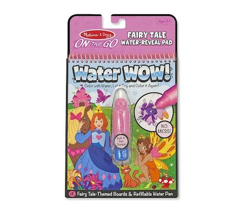 Melissa & Dough Water Wow eventyr - magisk fargelegging med vann 1 stk