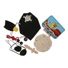 Piratkoffert med utstyr