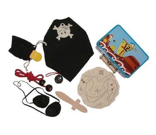 Am leg Piratkoffert med utstyr 1 stk
