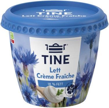 Tine Crème Fraîche Lett 18%, 300 g