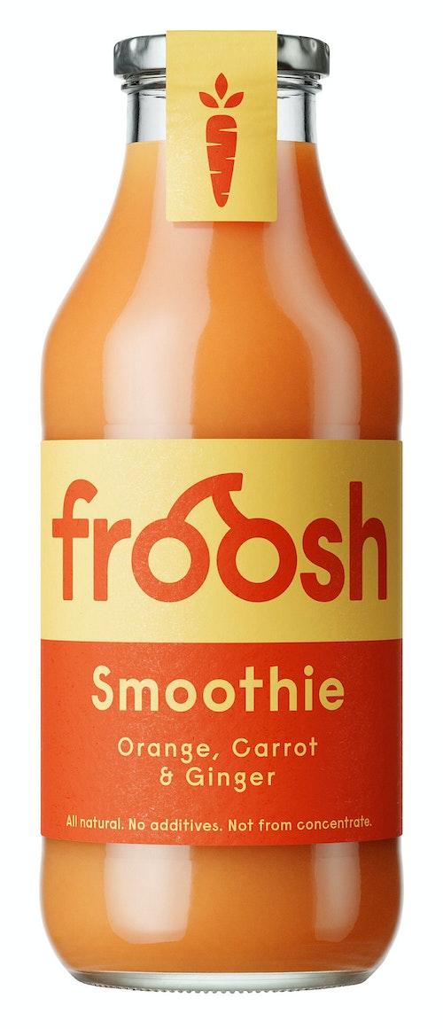 Froosh Smoothie Appelsin, Gulrot & Ingefær 750 ml