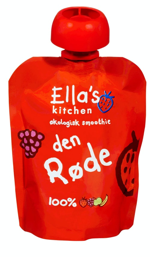 Ella's Kitchen The Red One Smoothie Fra 6 mnd, 90 g