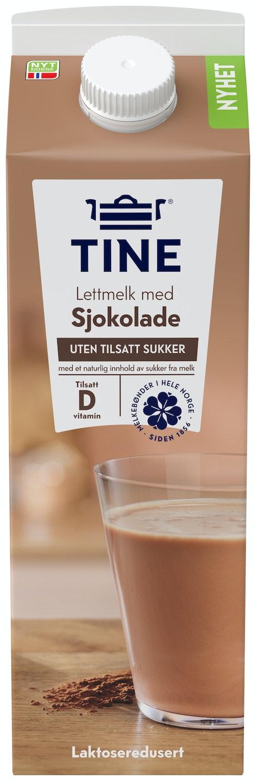 Tine Tine Lettmelk Med Sjokoladesmak 1 l