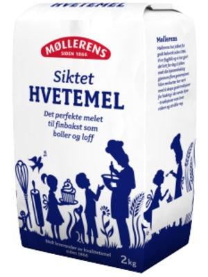 Møllerens Hvetemel Siktet, 2,2 kg
