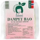 Vegansk Dampet Bao Bolle Fylt Med Tofu