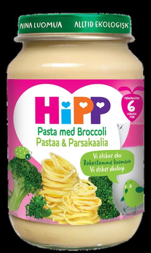 Hipp Pasta med Broccoli Fra 6 mnd, 190 g