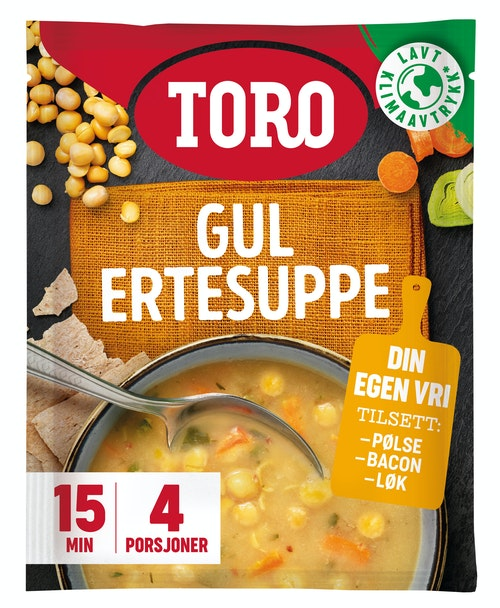 Toro Gul ertesuppe 146 g