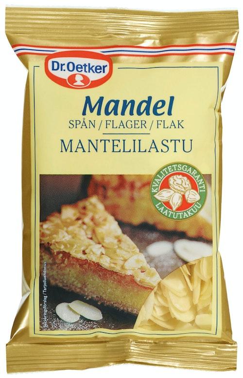 Dr. Oetker Mandelflak 50 g